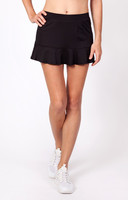"Tail Ladies & Plus Size Jennifer 12.5"" Flounce Tennis Skorts - ESSENTIALS (Black)"