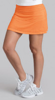 "CLEARANCE Bolle Ladies Gabriella 14"" Pull-on Tennis Skorts - Orange"