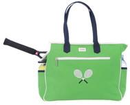 Green Racquet Tennis Court Bag