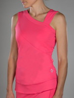 Sherbet Side Drape Tank Top