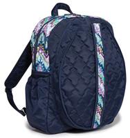 Cinda B Ladies Tennis Backpacks - Midnight Calypso