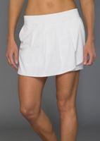 9f8f3b47555 JoFit Ladies   Plus Size Cascade Tennis Skorts - Napa (White)