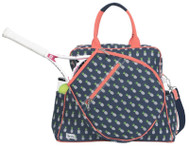 SALE Ame & Lulu Ladies Harper Tennis Tour Bags - Pineapple