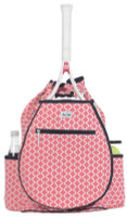 Ame & Lulu Ladies Kingsley Tennis Backpacks - Clover (Pink & Navy)