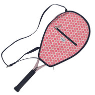 Ame & Lulu Ladies Riley Tennis Racquet Cover - Clover