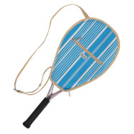 Ame & Lulu Ladies Riley Tennis Racquet Cover - Ticking Stripe
