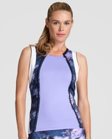 SALE Tail Ladies Sienna Sleeveless Tennis Tank Tops - Stargaze (Lavender)