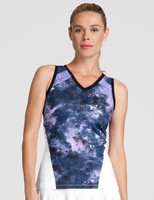 SALE Tail Ladies Tyler Sleeveless Tennis Tank Tops - Stargaze (Galaxy)