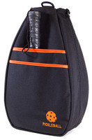 40 Love Courture Ladies Pickleball Backpacks - Black/Orange Lining