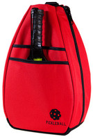 40 Love Courture Ladies Pickleball Backpacks - Red/Black Lining