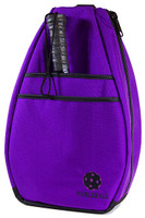 40 Love Courture Ladies Pickleball Backpacks - Purple/Black Lining