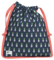 Ame & Lulu Ladies Raleigh Shoe Bags - Pineapple