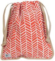 Ame & Lulu Ladies Raleigh Shoe Bags - Tango