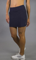 JoFit Ladies Mina (Short) Tennis Skorts - Sangria (Midnight)