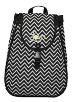 40 Love Courture Ladies Maddie Tennis Backpacks - Chevron with Black Lining