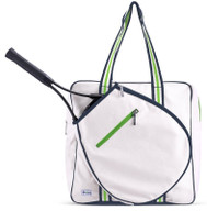 Ame & Lulu Ladies Cabana 88 Icon Tennis Bags - Dune