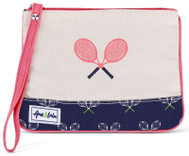 Ame & Lulu Ladies Lovers Tennis Wristlets - Match Point