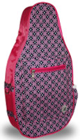 NTB Ladies Pickleball Bags - Sydney (Pink & Navy Knot)