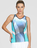 Tail Ladies Oneida Sleeveless Tennis Tank Tops - VELOCITY (Velocity Print)