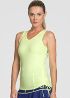 Tail Ladies Ashton Sleeveless Tennis Tank Tops - BRIGHT LIGHTS (Citrine)