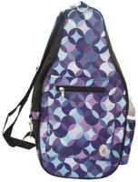 NTB Ladies Pickleball Bags - Cora (Purple Circles)