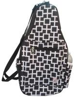 NTB Ladies Pickleball Bags - Eliza (Black & White)
