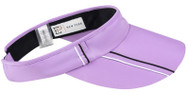 EP New York Ladies Tennis Visors - Club Med (Lilac Misty Multi)