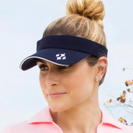 JoFit Ladies Jo Tennis Visors - Midnight Navy