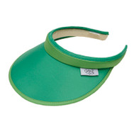 Glove It Ladies Solid Tennis Visors (Comfort Clip) - Solid Green