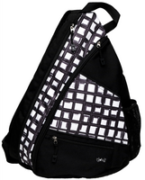 Glove It Ladies Pickleball Sling Bags - Abstract Pane