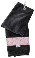 Glove It Ladies Tennis Towels - Rose Gold Quilt