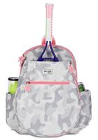 Ame & Lulu Girl's Big Love Tennis Backpacks - Grey Camo