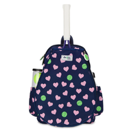 Ame & Lulu Girl's Little Love Tennis Backpacks - Hearts