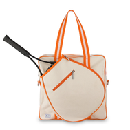 Ame & Lulu Ladies Hamptons Tennis Tour Bags - Clementine