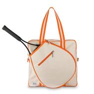 Ame & Lulu Ladies Hamptons Tennis Tour Bags - Clementine