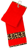 Glove It Ladies Tennis Towels - Leopard