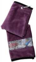 Glove It Ladies Tennis Towels - Patina Diamond