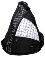 Glove It Ladies Pickleball Sling Bags - B/W Basketweave