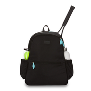 Ame & Lulu Ladies Courtside 2.0 Tennis Backpacks - Black