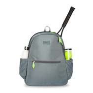 Ame & Lulu Ladies Courtside 2.0 Tennis Backpacks - Charcoal
