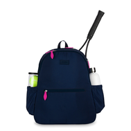 Ame & Lulu Ladies Courtside 2.0 Tennis Backpacks - Navy