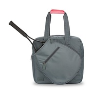 Ame & Lulu Ladies Sweet Shot 3.0 Tennis Tote Bags - Charcoal