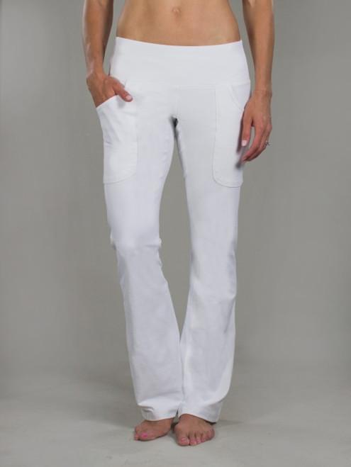 JoFit Ladies & Plus Size Live In Pants - Cosmopolitan (White)