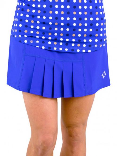 84e9d9d3ee oFit Ladies Dash Pleated Tennis Skorts – Blue Hawaiian (Periwinkle)