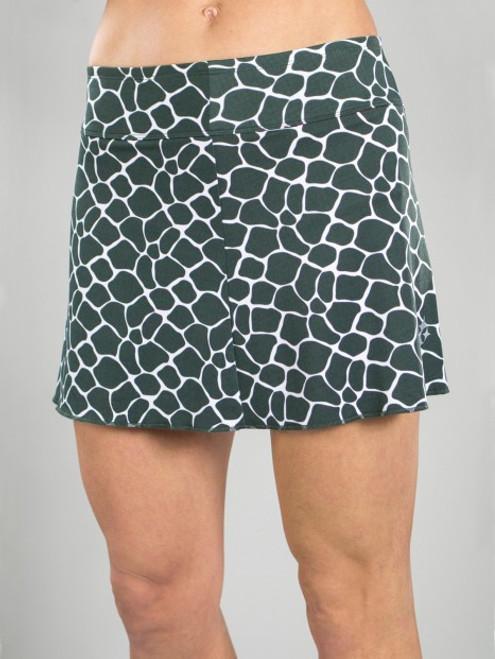 CLEARANCE JoFit Ladies & Plus Size Signature Tennis Skorts - Mojito (Giraffe)