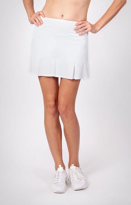 "Tail Ladies & Plus Size Doral 14.5"" Pleated Tennis Skorts - ESSENTIALS (White)"