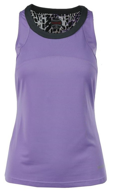 CLEARANCE Bolle Ladies Gianna Sleeveless Tennis Tank Tops - Lilac