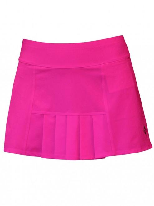 596b75ff7f ... SALE JoFit Ladies Dash Pleated Tennis Skorts (Short) - Napa  (Fluorescent Pink)