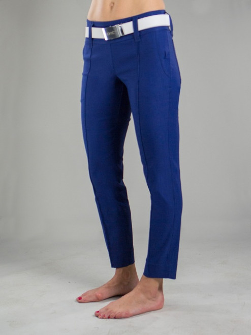 JoFit Ladies Slimmer Cropped Pants - Napa (Blue Depth)