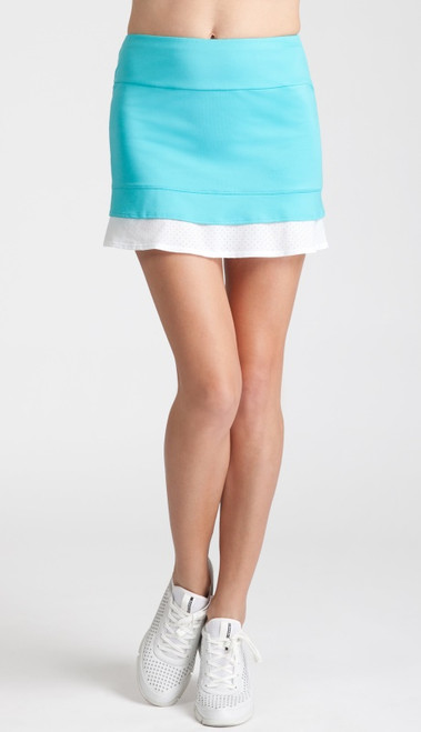 SALE Tail Women's Plus Size Olivia Tennis Skorts - Glistening Tide (Curacao)